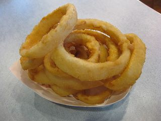 Onion Rings from Fatburger by GrubGrade